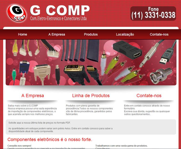G.Comp Componentes Eletrônicos